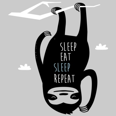 Sleep Eat Sleep Repeat Sloth