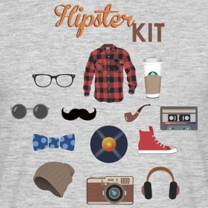 hipster kit - Men's T-Shirt