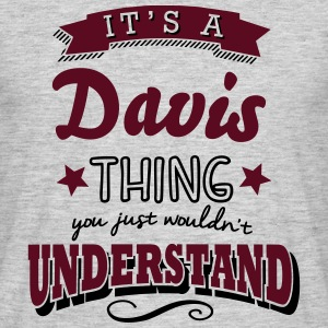 its a davis name surname thing