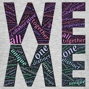 we & me - Men's T-Shirt