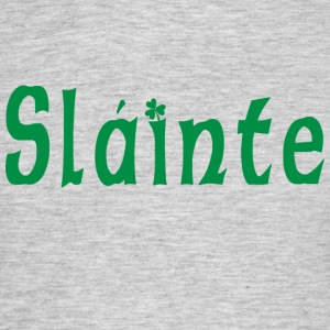 Irish Slainte - T-shirt herr