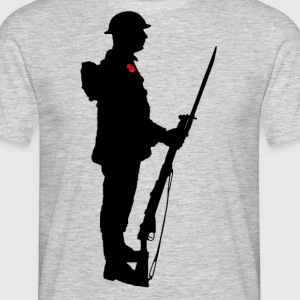 Remembrance Day Soldier WW1 - Men's T-Shirt