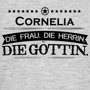 bursdag legende Goettin Cornelia - T-skjorte for menn