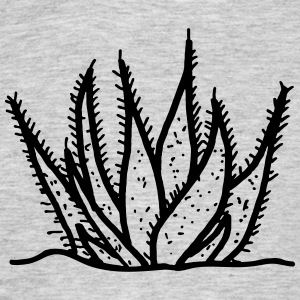 Aloe Vera agave cactus drawing - Men's T-Shirt