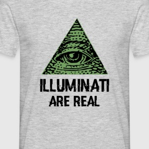 Illuminati - T-skjorte for menn