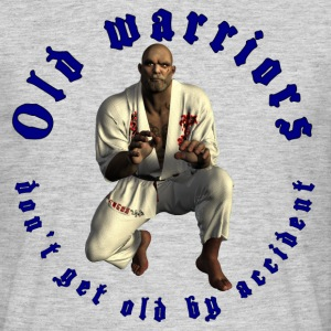 Jiu-Jitsu Old Warrior - Mannen T-shirt