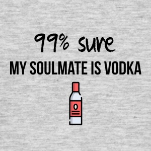 My soulmate er vodka - Herre-T-shirt