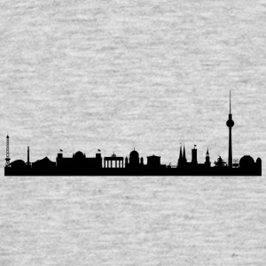 Berlin - silhouette - Men's T-Shirt