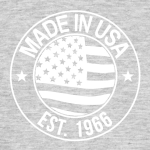 Made in USA - Herre-T-shirt