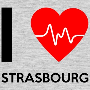 I Love Strasbourg - I love Strasbourg - Men's T-Shirt
