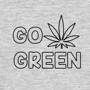 GO GREEN - T-skjorte for menn