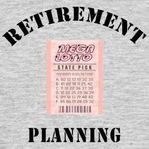 Retirement Planning - Mannen T-shirt