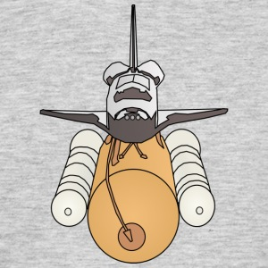 Space shuttle - Mannen T-shirt