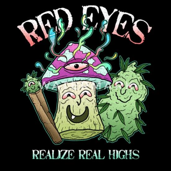 Augen kiffen werden warum rot beim Darum werden