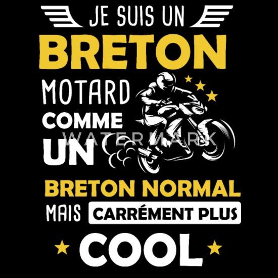 Breton Phrase Drole Moto Bretagne Motard T Shirt Homme Spreadshirt