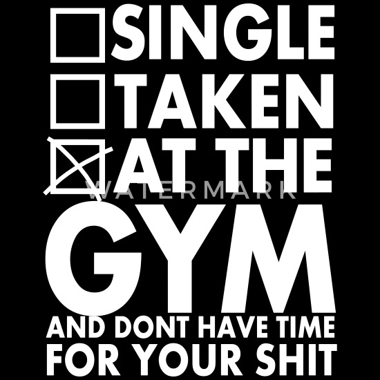 single taken at the gym and dont have time