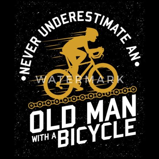 Divertente Piano di Pensionamento Ciclismo Biciclista Uomini Maglietta