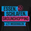 Hobby Groundhopping - Männer T-Shirt