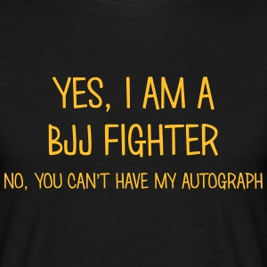 bjj fighter yes no cant have autograph