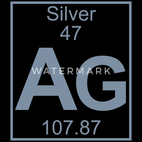 Periodic Table Element 47 Ag Silver Big Af Elementaltable
