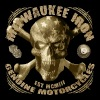 milwaukee iron skull vintage motorcycle - Männer T-Shirt