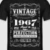 Premium Vintage 1967 Aged To Perfection - Men's T-Shirt