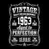 1963 Aged to Perfection White print - Camiseta hombre