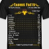 Taurus Facts Zodiac - Men's T-Shirt