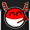 Polandball - Men's T-Shirt
