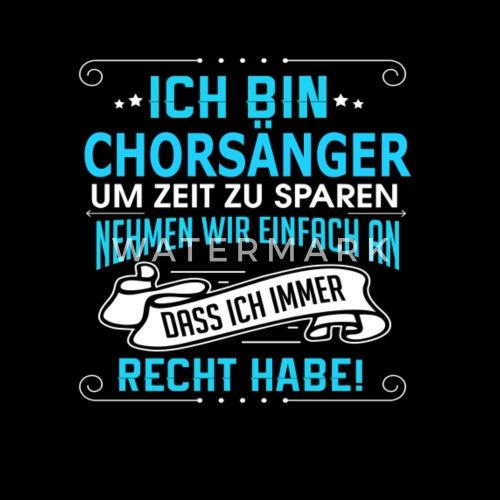 Chorsanger Manner T Shirt Spreadshirt