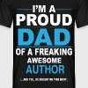 dad AUTHOR son - Men's T-Shirt