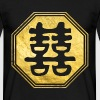 Double Happiness Feng Shui Symbol - Men's T-Shirt