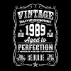 1989 Aged to Perfection White print - Camiseta hombre