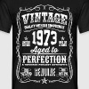 1973 Aged to Perfection White print - Camiseta hombre