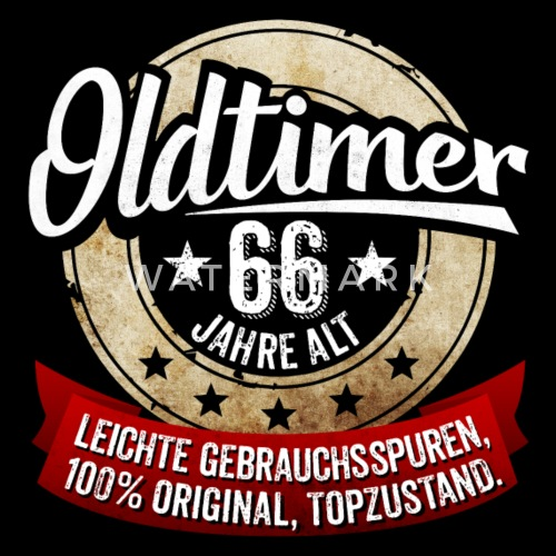 Zum 66 Geburtstag Manner T Shirt Spreadshirt