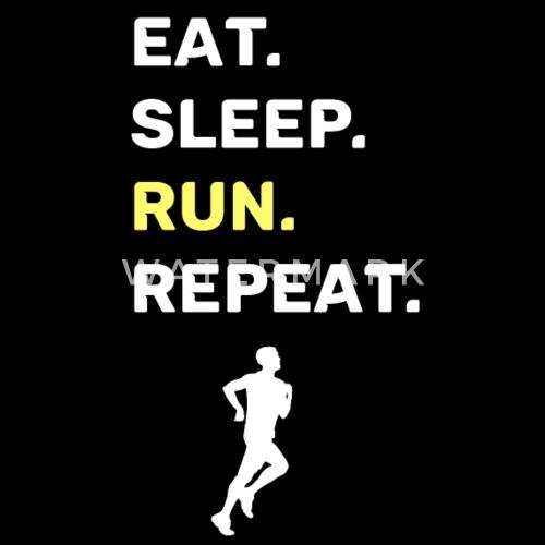 Rennen Laufen Joggen Lustiger Spruch Manner T Shirt Spreadshirt