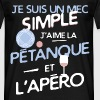 Pétanque - un mec simple - T-shirt Homme