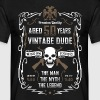 Aged 50 Years Vintage Dude - Men's T-Shirt