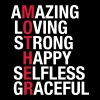 Mother - Amazing, Loving, Strong, Happy... - Men's T-Shirt