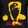 Slavegirl on her knees - devotion - Männer T-Shirt