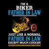 Biker Father In Law... - Men's T-Shirt