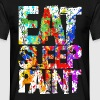 Eat Sleep Paint - Men's T-Shirt