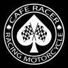 Café racer racing motorcycle  as de pique - T-shirt Homme