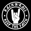 Keep The Faith - Rock'n'Roll - Men's T-Shirt