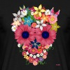 skull flowers by WAM - T-shirt Homme