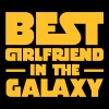 Best Girlfriend In The Galaxy - Mannen T-shirt