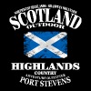 Highlands - Scotland Vintage Flag - Männer T-Shirt