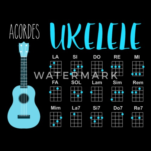 Ukulele Chords By Cp Design Spreadshirt