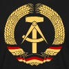 East Germany Crest Flag Wreath GDR DDR Emblem - T-shirt Homme