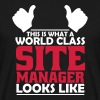 world class site manager - Men's T-Shirt